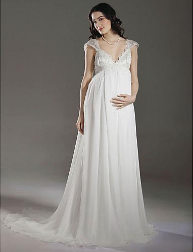 Maternity Plus Size Wedding Dresses 40