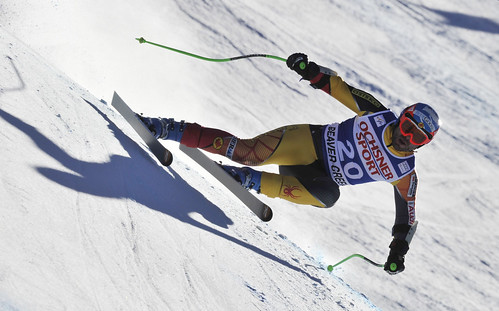 Jan Hudec during men's super-G in Beaver Creek.