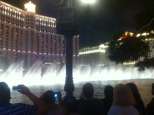 water show. bellagio.