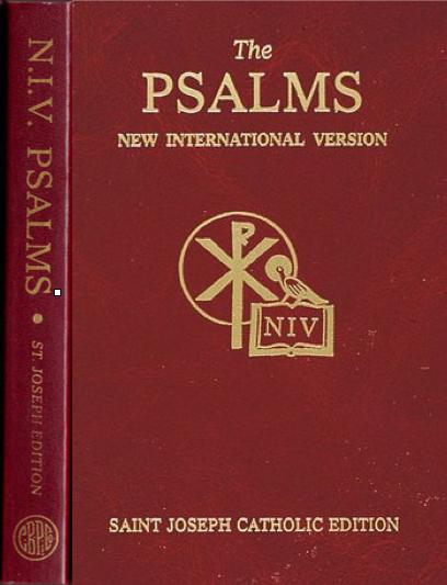 new international version  saint joseph catholic psalms
