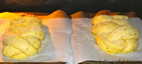 Fontina & Chive Homemade Challah Bread Recipe