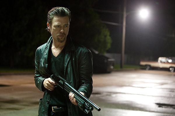 Brad Pitt puts the wrong people -- as opposed to the audience -- out of their misery in KILLING THEM SOFTLY.