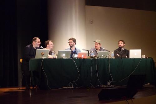 Golan Levin, Luke Dubois, Daniel Shiffman, Zach Lieberman, Andrew Bell