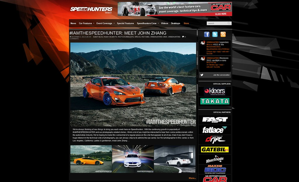 SpeedHunters Feature