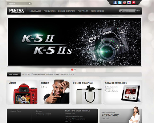 New_Web_Pentax by PENTAX Iberia