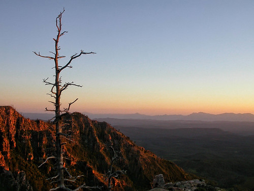 sunset arizona mogollonrim tontobasin