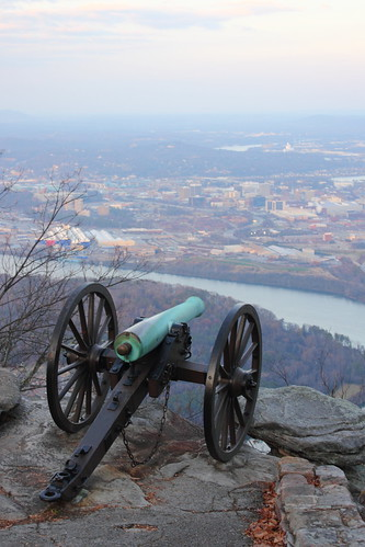 Cannon on Lookout Mountain