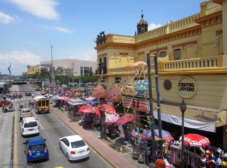Street Scene, Guadalajara