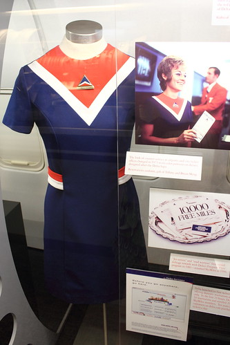 Delta Flight Attendant Dress