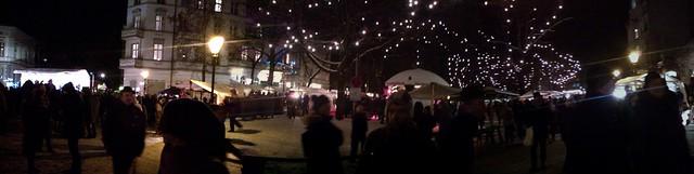 Mercadillo de navidad de Rixdorf en Berlín