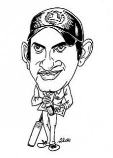 Gautam Gambhir Cartoon