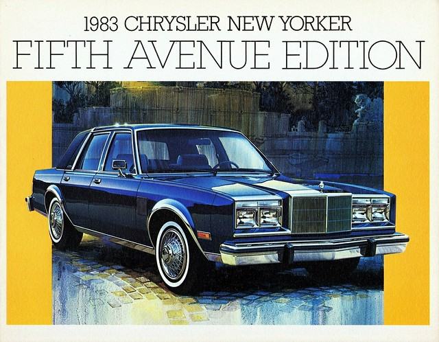 1983 chrysler new yorker fifth avenue edition canada flickr