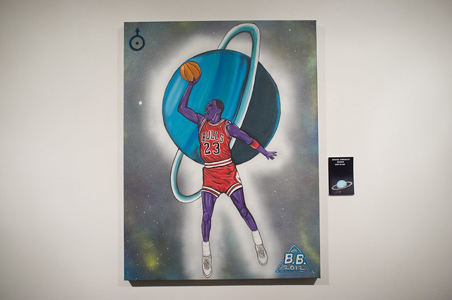 Michael Jordan as Uranus god of Air