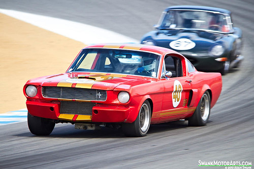 Shelby GT350 vs. Jaguar E-Type by autoidiodyssey