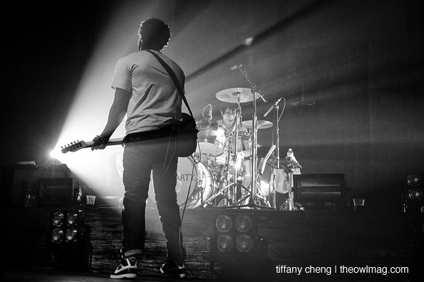Bloc Party @ Fox Theater, Oakland 12/6/12