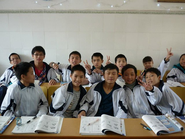 The knowledge-hungry students in China are the biggest reward you can get
