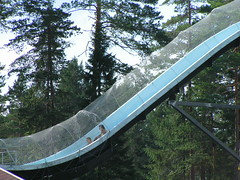 playground slide,