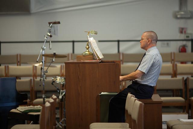 Michael the organist