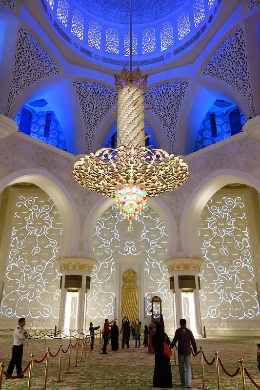 La espectacular Mezquita Sheikh Zayed en Abu Dabi 8267929759_ff7114e353_c