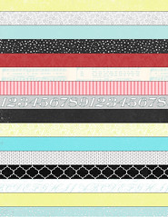 4 Bold Christmas stripes - standard or letter size 350dpi