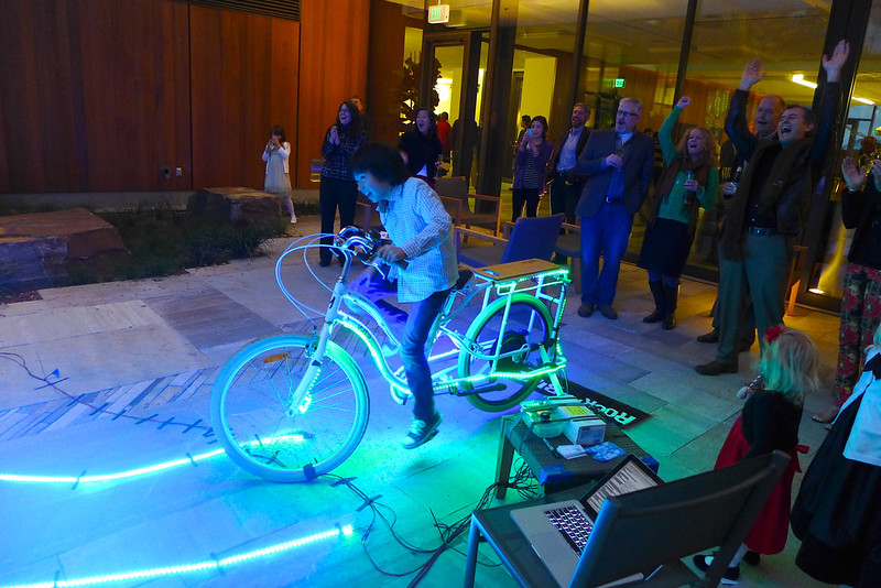 bike powered led