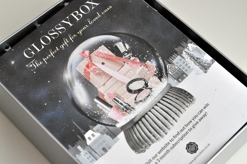 glossybox december christmas 2012 box 5