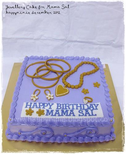 jewelery cake mama sal