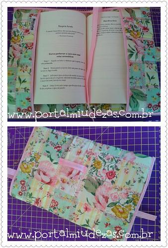 Capa para Livro ou Caderno by miudezas_miudezas