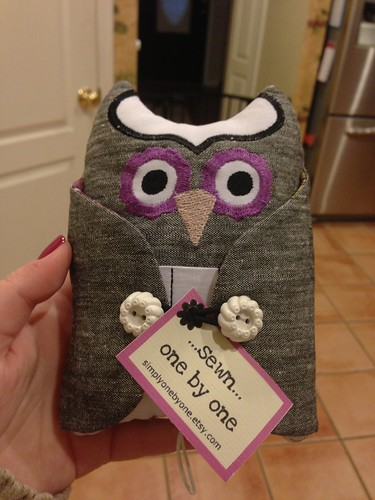 Owl Sewing Kit Holder