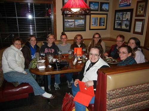 Nov 21 2012 Girls Night Out Applebees