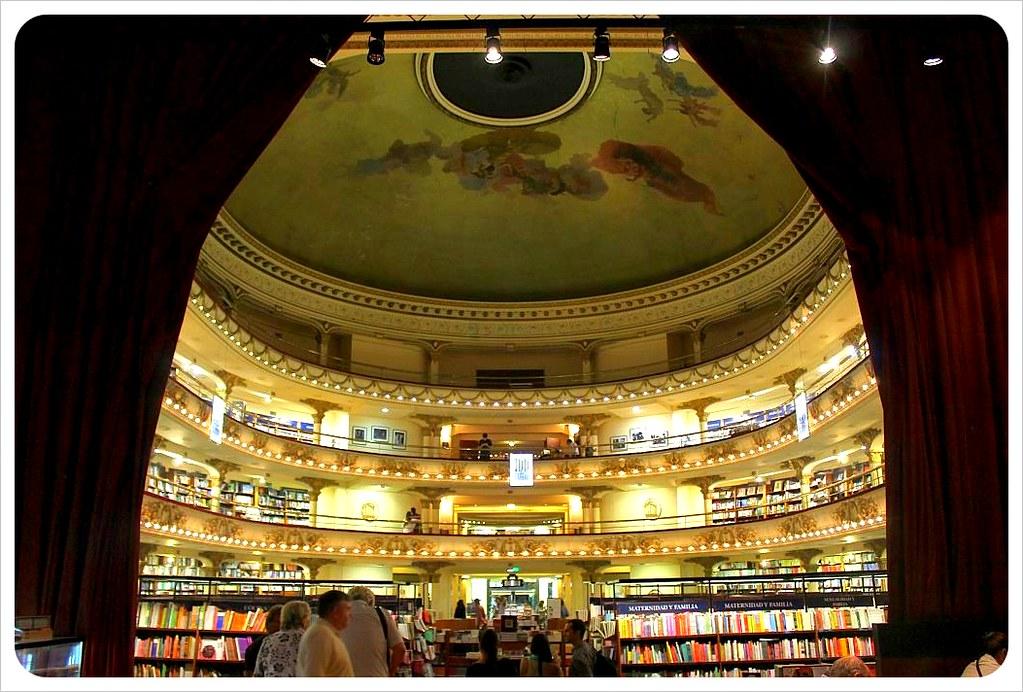 el ateneo book store in buenos aires