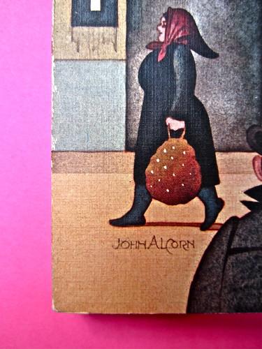 John Alcorn / Paolo Levi, Ritratto di provincia in rosso Rizzoli 1975. Prima di sovracoperta (part.), 1