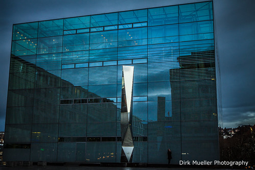 Stuttgart Art Cube by Dirk Mueller Photography
