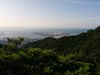 Kobe Port Island from Maya mountain 神戸のポートアイランド