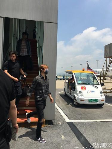 BIGBANG Arrival Nanning (3)