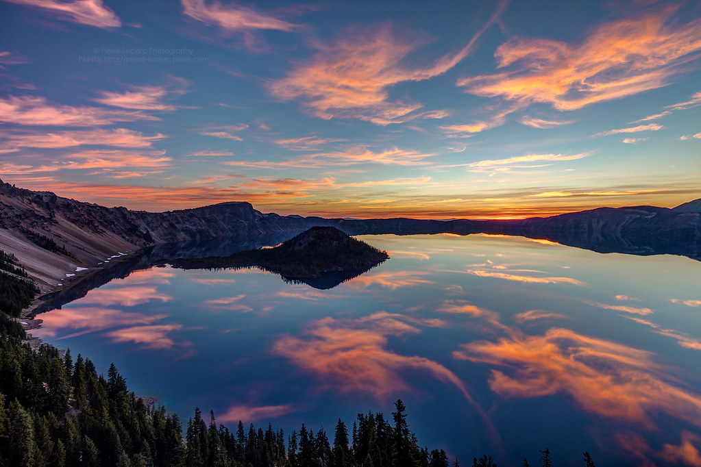 Volcanic Sunrise at Crater Lake