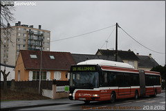 Irisbus Agora L GNV - Setram (Société d'Économie Mixte des TRansports en commun de l'Agglomération Mancelle) n°780 - Photo of Souligné-Flacé