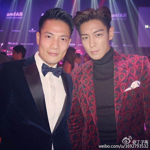 TOP - amfAR Charity Event - 14mar2015 - 丁子高 - 01