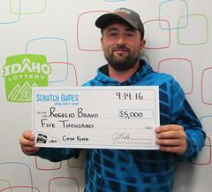 Rogelio Bravo - $5,000 Cash King
