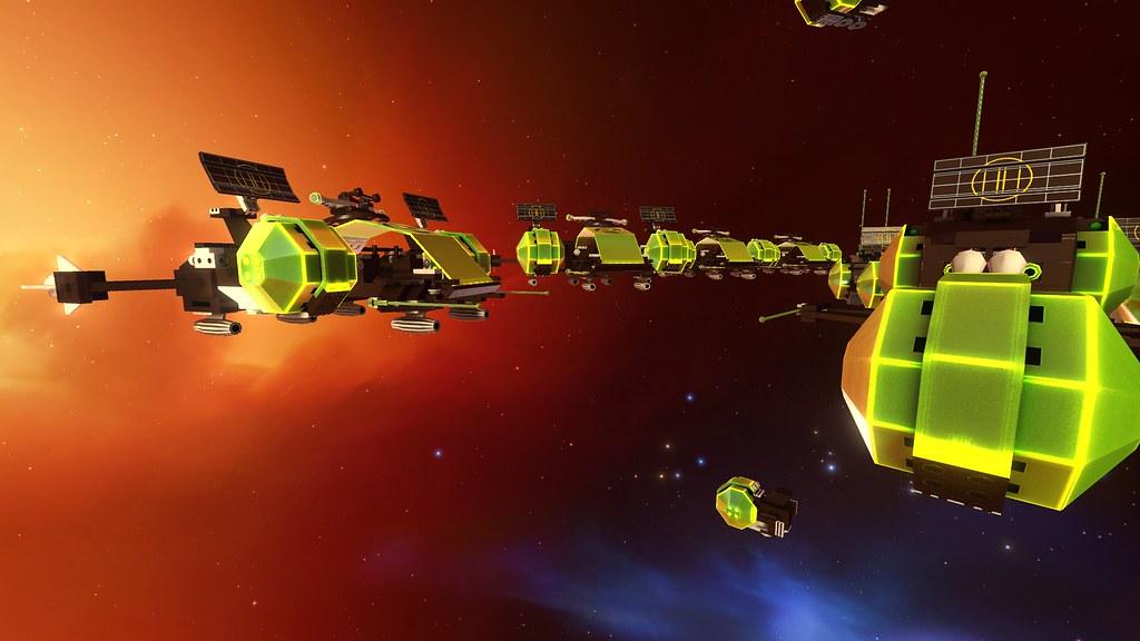 Blacktron II Fleet