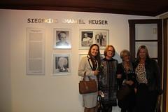 Inauguração de Memorial e palestra em homenagem a Siegfried Heuser - set/2016