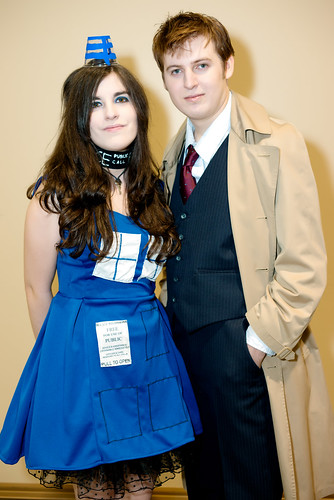 Dr. Who and Lady TARDIS - OniCon 2012