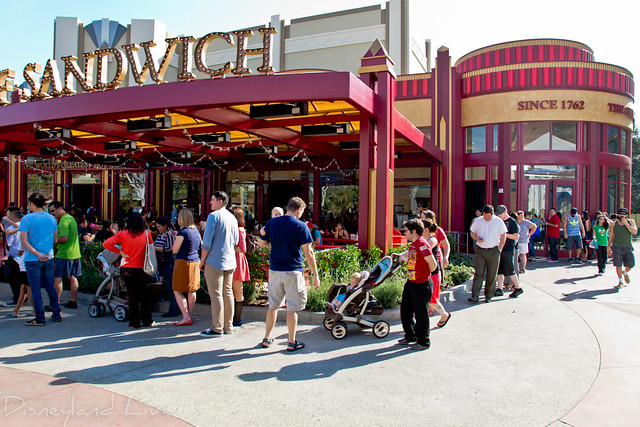 Earl of Sandwich Opening Day Line