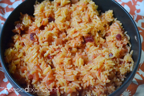 Root Vegetable Rice Pilaf