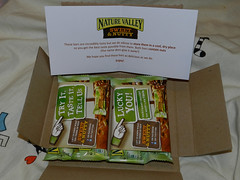 Nature Valley Sweet & Nutty freebies