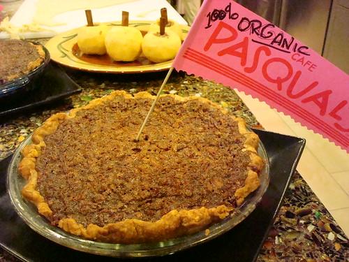 Cafe Pasqual's, Holiday Pie Mania, Santa FE