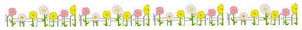 Barrinha de flores