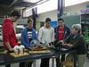 Al laboratori de Màquines de l'ETSEIB. novembre 2012