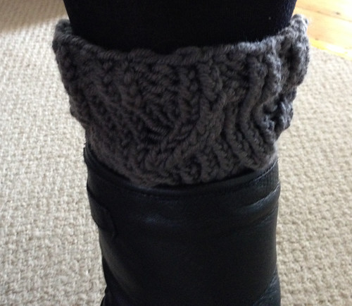 Knitted Boot Toppers