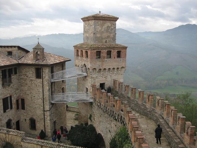 Замок Виголено. Небольшой, но очень атмосферный